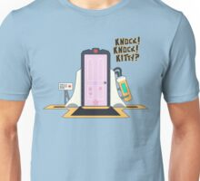 knock knock kitty?? Unisex T-Shirt