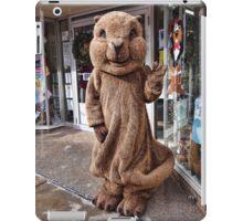 Town Mascot iPad Case/Skin