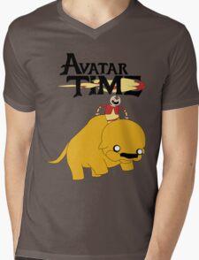 The Last Adventurer Mens V-Neck T-Shirt