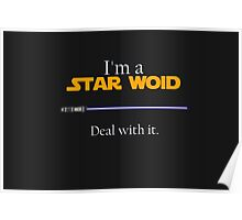 Deal with it: Star Wars Poster