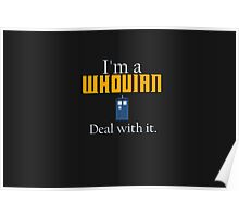 Deal with it: Doctor Who Poster