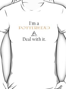 Deal with it: Harry Potter T-Shirt