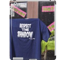 Respect the Shaodow iPad Case/Skin