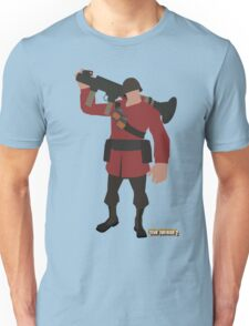 Team Fortress 2 | Minimalist Soldier Unisex T-Shirt