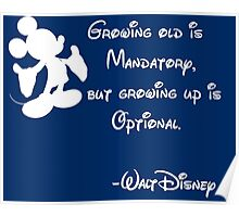 Growing Up is Optional Poster