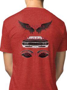 Angels, Hunters, & Demons (Words) Tri-blend T-Shirt
