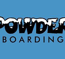 Powder Boarding by theshirtshops