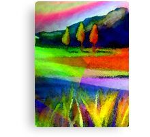 Caught In A Rainbow Canvas Print
