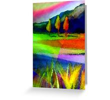 Caught In A Rainbow Greeting Card