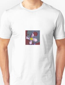 Abstract with ribbon flower Unisex T-Shirt