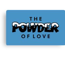 The Powder of Love Canvas Print