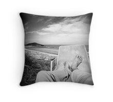 Surf Art 09 Throw Pillow