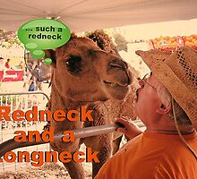 """Redneck and a Longneck""... prints and products by © Bob Hall"