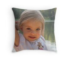 Cowgirl Baby Throw Pillow