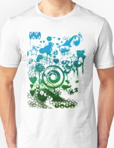 Blue And Green World T-Shirt