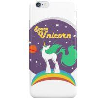 The Space Unicorn iPhone Case/Skin