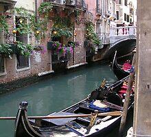 Venice Gondolas by tunatya