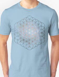 Pinwheel Flower of Life | Sacred Geometry Unisex T-Shirt