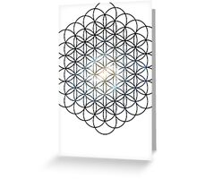 The Lost Galaxy Flower of Life | Sacred Geometry Greeting Card
