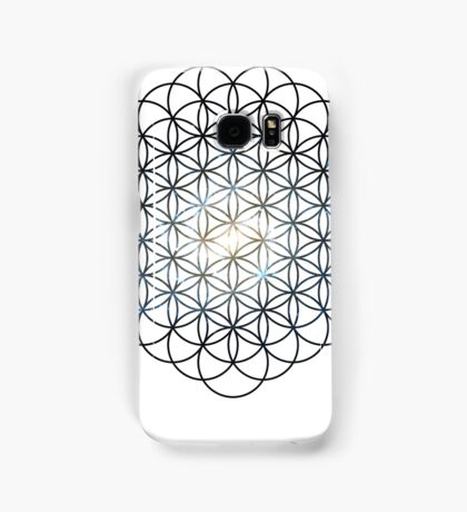 The Lost Galaxy Flower of Life | Sacred Geometry Samsung Galaxy Case/Skin