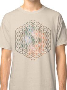 Kid Cudi Galaxy [Red] Flower of Life | Sacred Geometry Classic T-Shirt