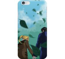 Edward and Roy out for a walk iPhone Case/Skin