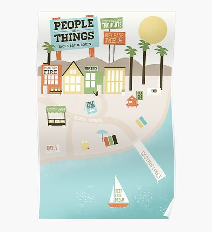 Jack's Mannequin - People and Things Poster