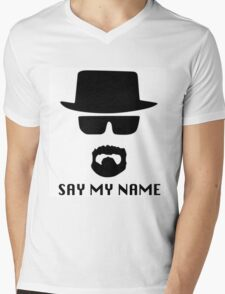 Heisenberg, say my name Mens V-Neck T-Shirt