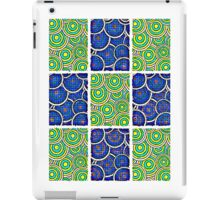 The snake missed the train iPad Case/Skin
