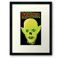 THE MASTER Framed Print