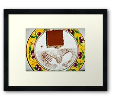 Dessert decoration #1 Framed Print