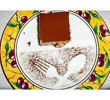 Dessert decoration #1 Photographic Print