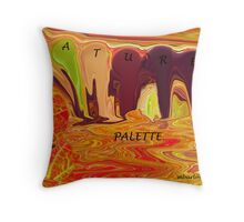 colors of nature or  Throw Pillow
