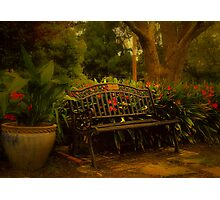 Banquette Photographic Print