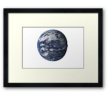 Life Intensifies [Earth Edition] Framed Print