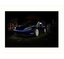 Mazda Roadster Art Print
