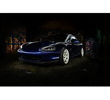 Mazda Roadster Photographic Print