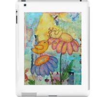 Birds in a Flower Garden  iPad Case/Skin