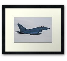 RAF Typhoon ZK330-FT No1 Squadron Framed Print