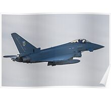 RAF Typhoon ZK330-FT No1 Squadron Poster