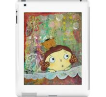 Girl and Cat  iPad Case/Skin