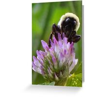 The Humble Bumble Greeting Card