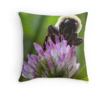 The Humble Bumble Throw Pillow