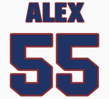 National football player Alex Mack jersey 55 by imsport