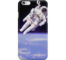 Floating in Space iPhone Case/Skin