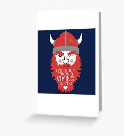 Viking to you Greeting Card