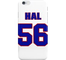National football player Hal Crisler jersey 56 iPhone Case/Skin