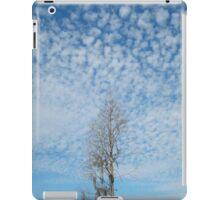 Cypress Under a Popcorn Sky iPad Case/Skin