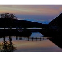 Sunset in Wales Photographic Print