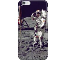 Planting the Flag on the Moon iPhone Case/Skin